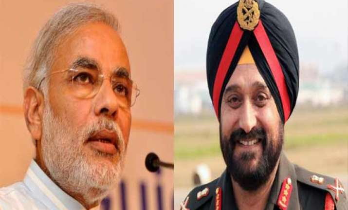 modi hosts farewell dinner for outgoing army chief