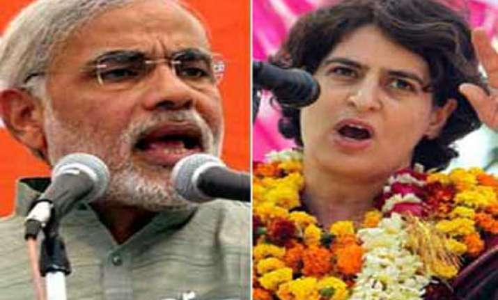 modi insulted my father on amethi s soil says priyanka