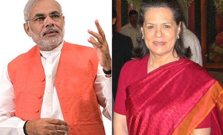 modi mocks sonia s invocation of god