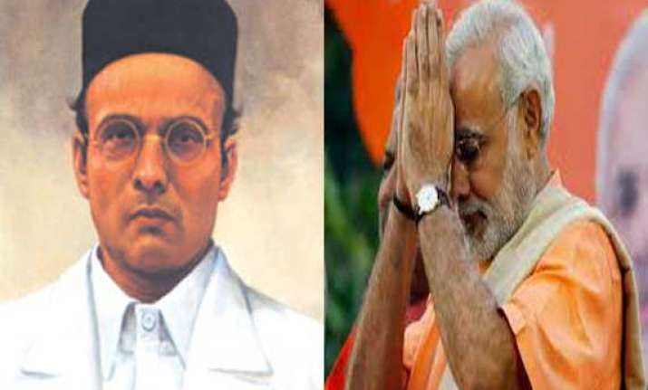 modi pays tribute to veer savarkar