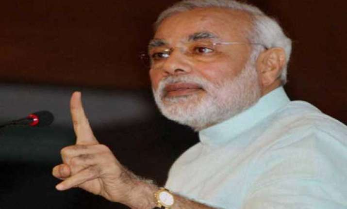 modi reviews gujarat water supply situation urges focus on