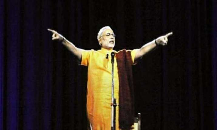 modi s 3 d rally to be held today at 106 locations across