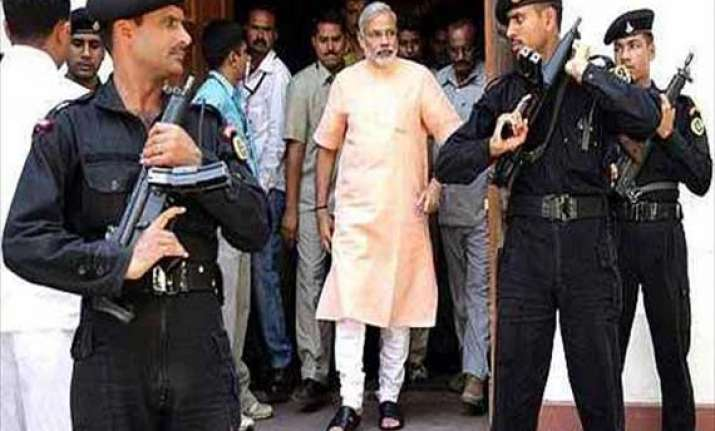 modi s security stepped up after chennai blasts