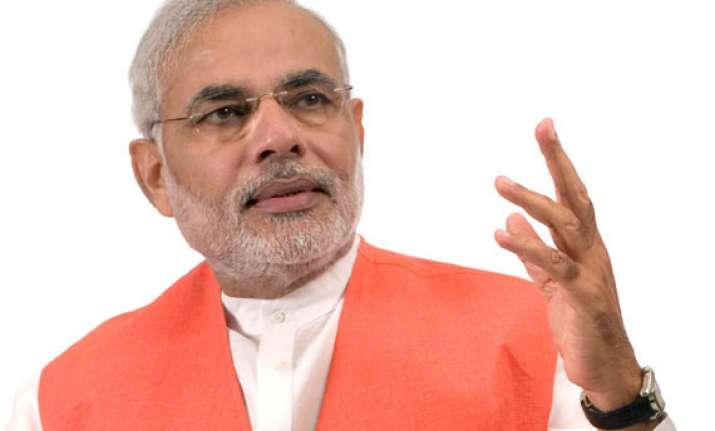 modi to address bjp s poll booth workers through tv