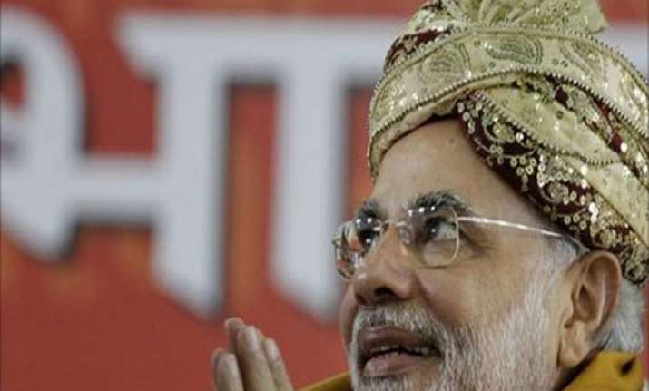 modi holds day long fast at dwarka for harmony and peace