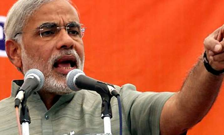 modi challenges congress to provide 24 hour power in amethi