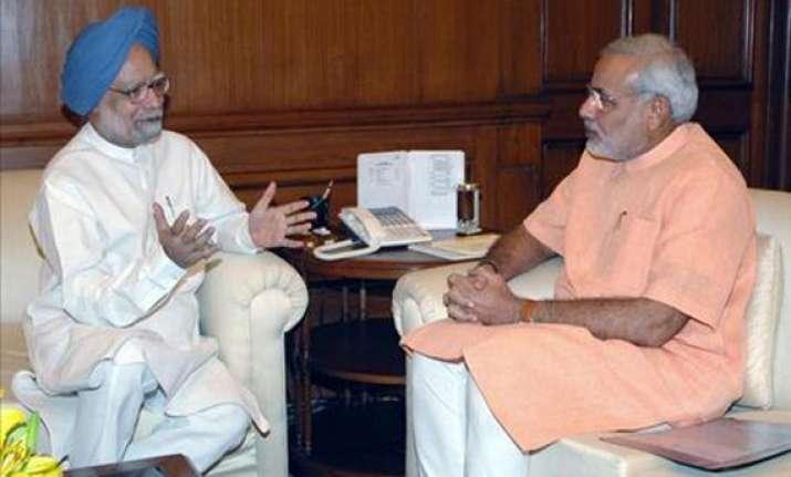 modi criticises pm for remarks on malnutrition