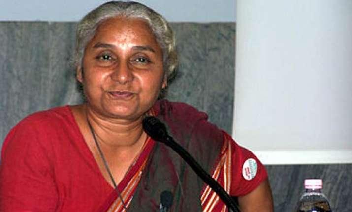 modi govt committing excesses on tribals alleges medha