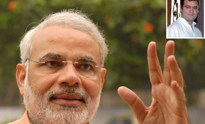 modi targets rahul says he visits poor for photo ops