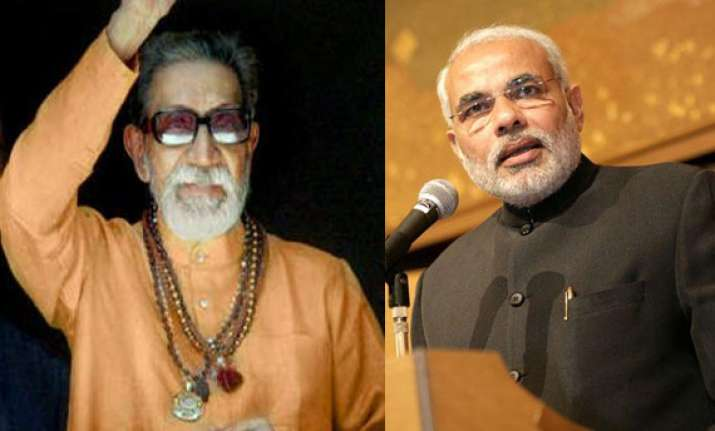 modi says men like bal thackeray come once in a century