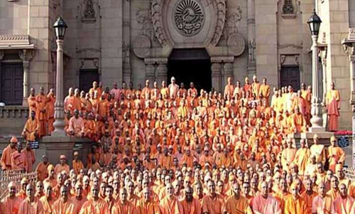 monks of ramakrishna order to abstain from voting