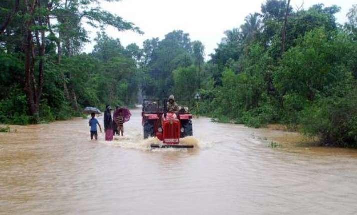 monsoon five more die in up major rivers in spate