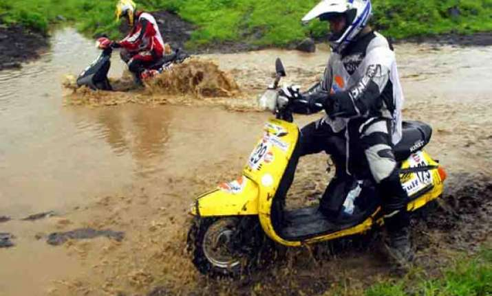 monsoon scooter rally faces roadblocks nearing quarter