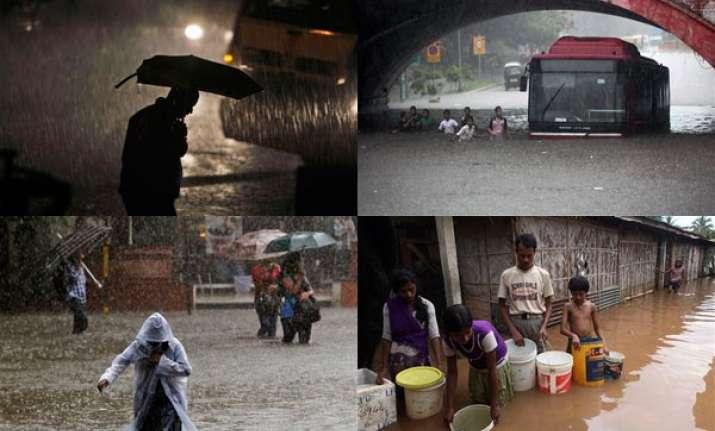 monsoon rains lash india watch pics