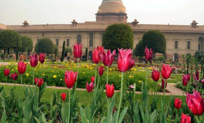 mughal gardens to be opened to public from today