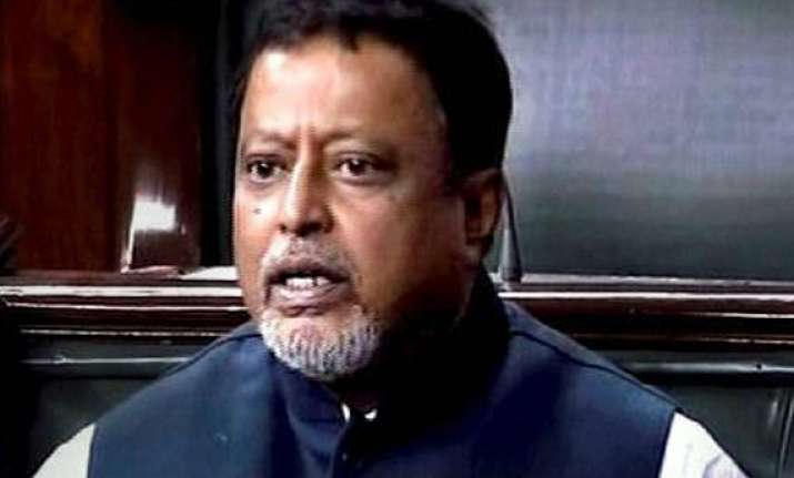 mukul roy five other new mps take oath in rs