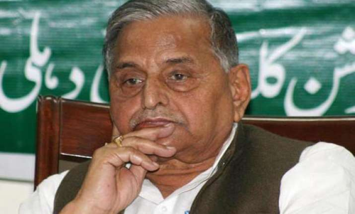 mulayam attends iftar in bangalore