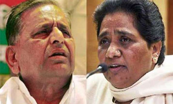 mulayam contesting from azamgarh to please his 2nd wife maya