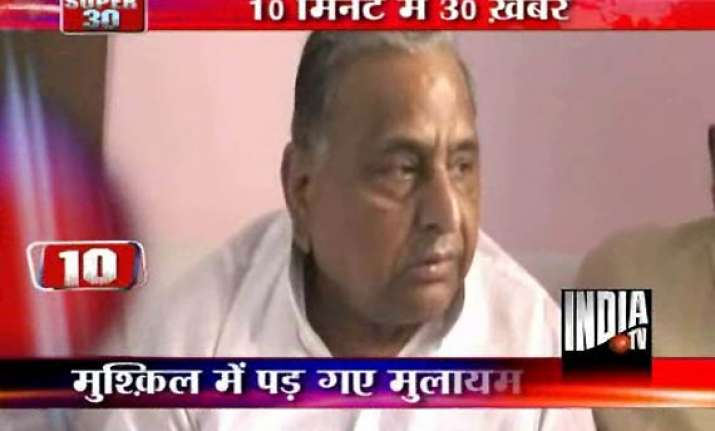 mulayam azharuddin detained while going to moradabad