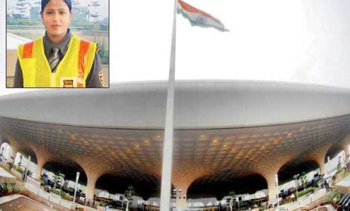 mumbai airport guard banned for complaining about torn