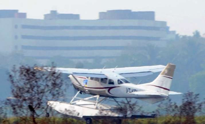 mumbai firm launches india s first seaplane service aims to