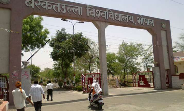 murlidhar tiwari appointed new vc of barkatullah university