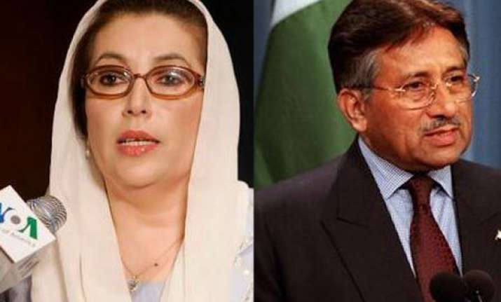 musharraf named accused in bhutto s assassination