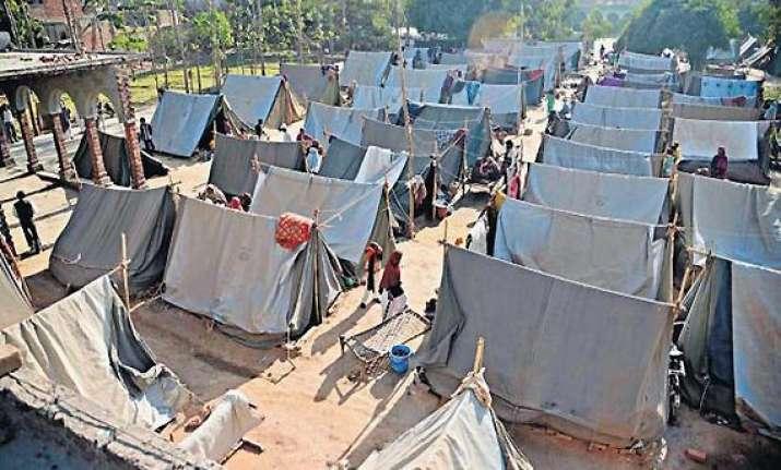 muzaffarnagar riot hit families to boycott election say no