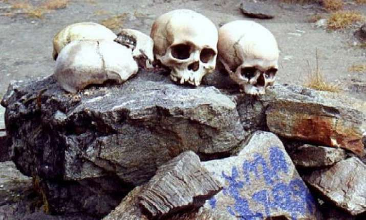 mystery of india s skeleton lake roop kund