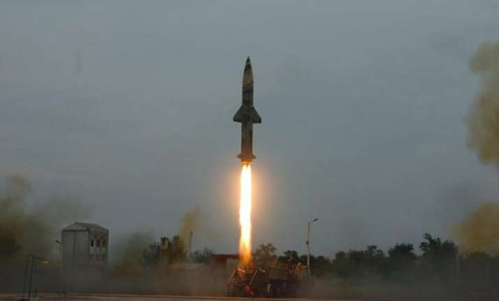 n capable missile test fired for second time in two days