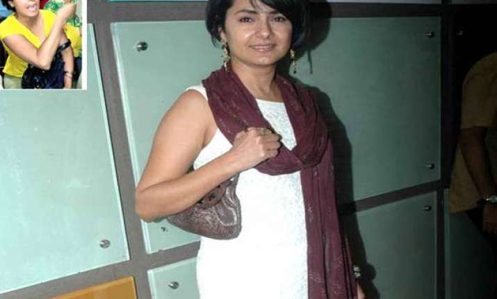 ncp women activists rough up kitu gidwani