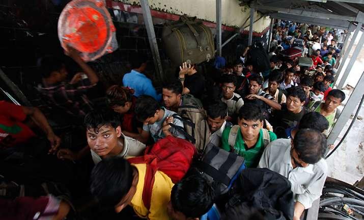 ne people exodus stops from karnataka dwindles from tn