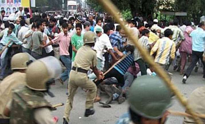 nhrc demands police s report in 2012 lathicharge incident