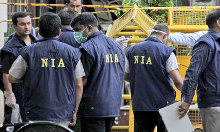nia officials hold meeting with bihar police