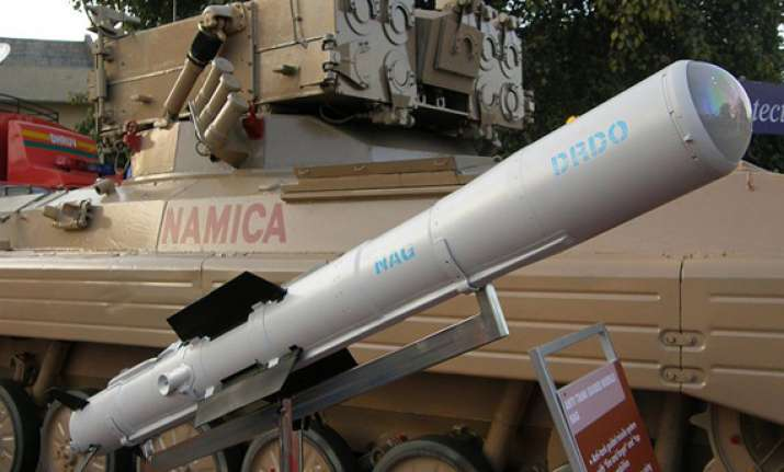 nag anti tank missile fails during user trials by army