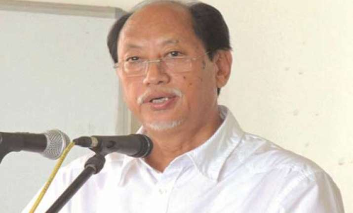 nagaland cm neiphiu rio to be dan candidate for ls seat