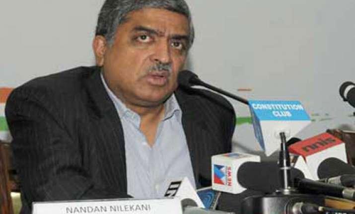 nandan nilekani to resign from uidai to contest polls