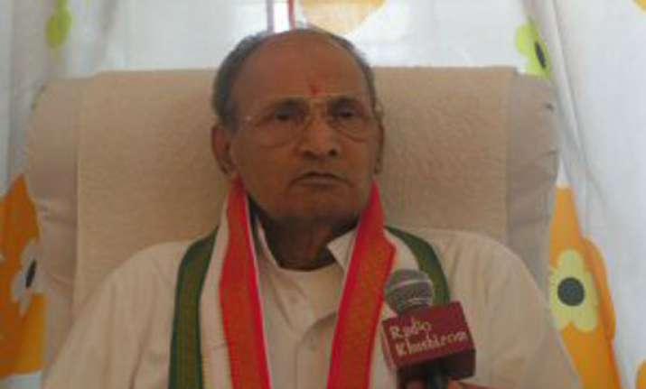 narasimha rao s eldest son passes away