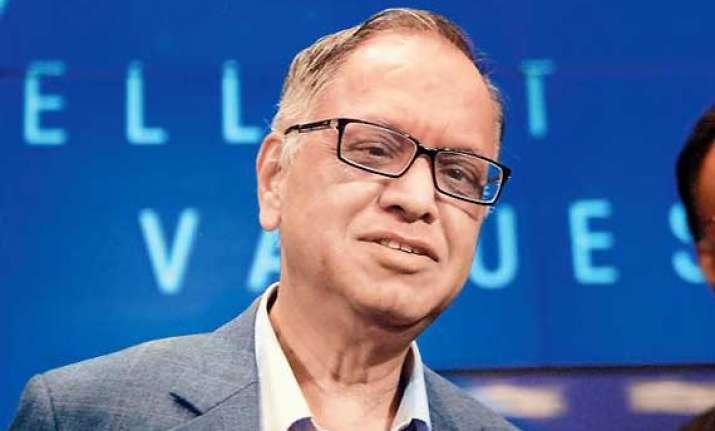 narayana murthy advocates corporate salaries for politicians