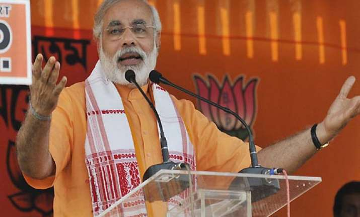narendra modi is the most searched chief minister on google