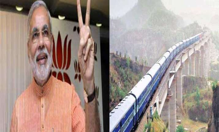 narendra modi likely to flag off train to katra on july 4