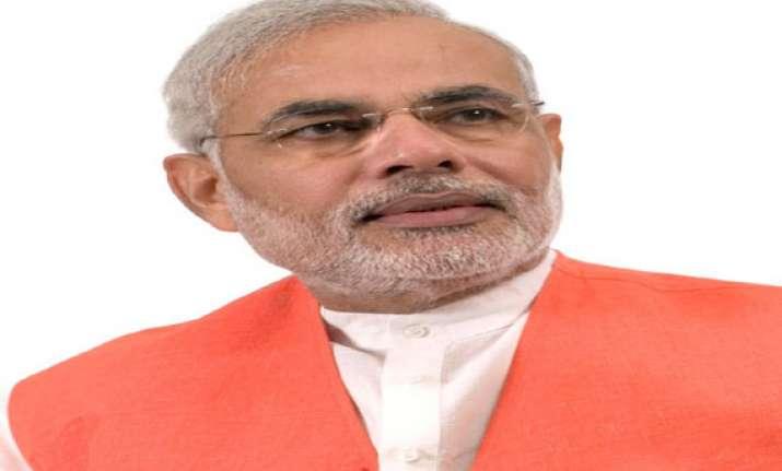 narendra modi presses for corruption free politics