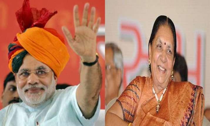 narendra modi resigns as gujarat chief minister anandiben