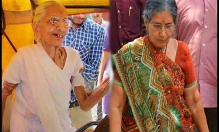narendra modi s wife mother to get spg cover