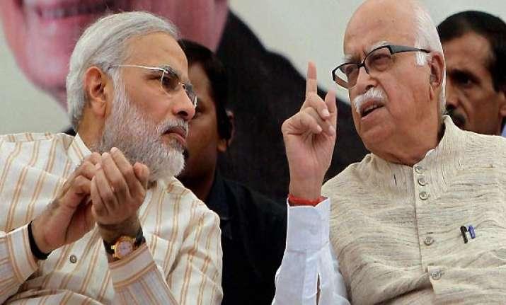 lk advani files nomination from gandhinagar
