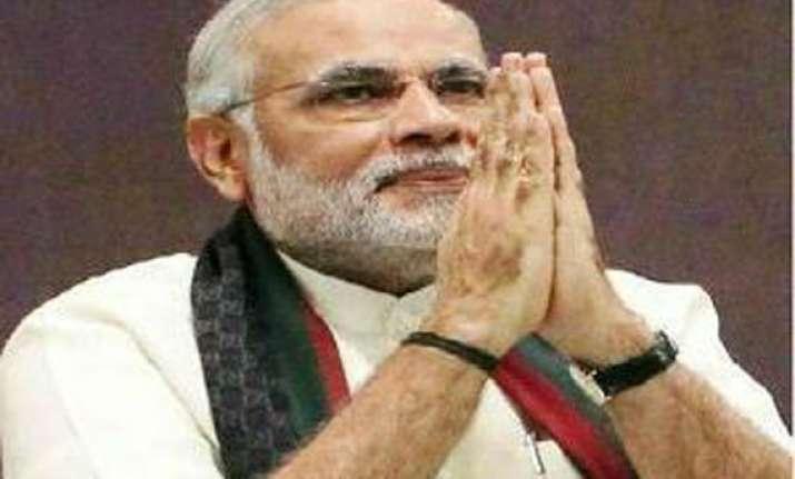 narendra modi to visit varanasi say thanks
