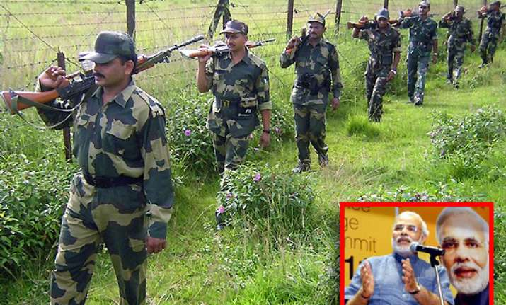 narendra modi opposes wider powers to bsf