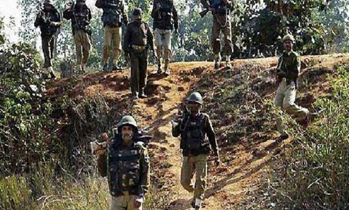 narrow escape for bsf personnel as maoists trigger ied