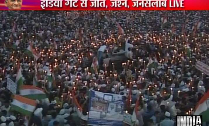nation s victory thousands begin march from india gate