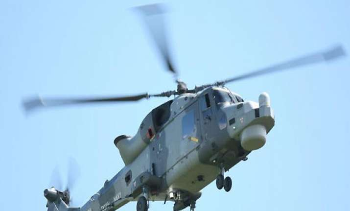 naval chopper makes emergency landing due to technical snag